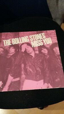 LP The Rollings Stone - Miss you - 1978
