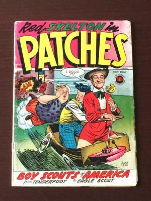 Patches Comics #11 Red Skelton 1940's Golden Age GD+