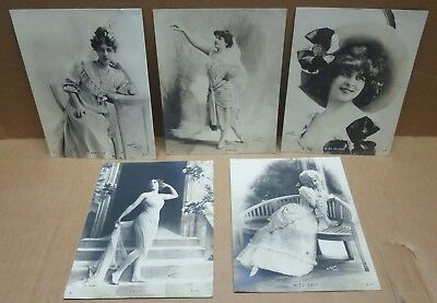 ARTISTE BELLE EPOQUE 5 cartes double format par  REUTLINGER