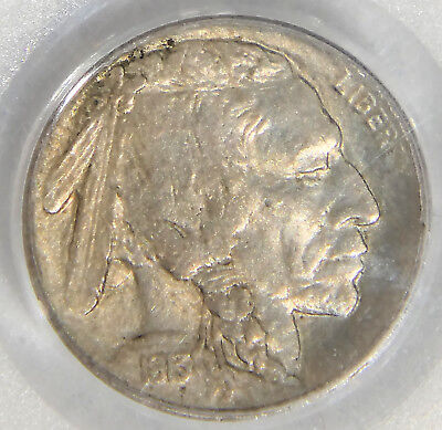 1913 Type 2 Buffalo Nickel PCGS MS63 Hint of Rose Colour with Great Luster #208R