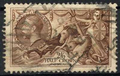 GB KGV 1934 SG#450, 2s6d Chocolate, Brown Seahorse Used #D79459