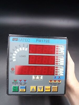 Satec PM172E-N Advanced Feeder Monitor Multi-Functional Power Meter Powermeter