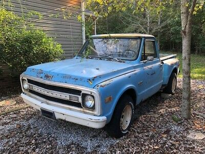 1970 Chevrolet C-10  1970 Chevrolet C-10 SWB Stepside North Carolina Truck