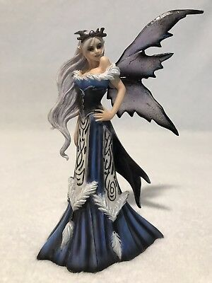 Fairy Site *WINTER QUEEN* Figurine by Amy Brown Retired 2009 Munro