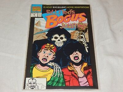 Bill and Ted's Bogus Journey #1 1991 Marvel Comics Graphic Novel Movie Adapt