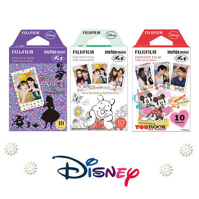 Fujifilm Instax Mini 30 Sheets Disney Character Film - Fuji Instant 8 9 90 Photo