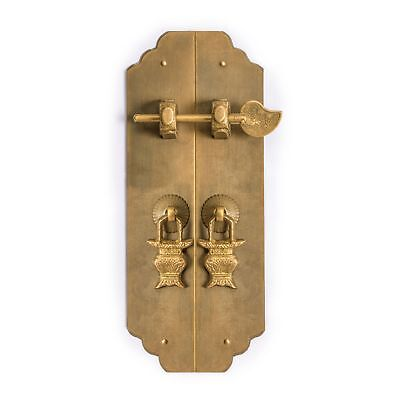 CBH Chinese Brass Hardware Cabinet Strip Pulls 7.9""