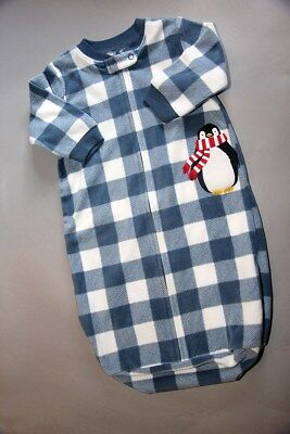 CARTER'S Infants Fleece Sleeping Bag 0-9 Months * EUC *