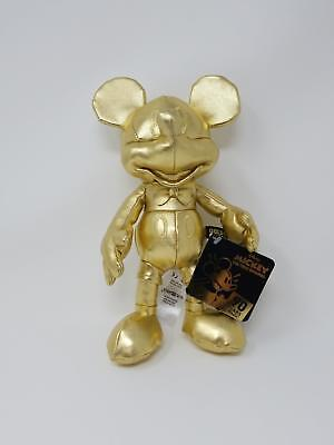 Disney Store Mickey Mouse The True Original Plush Gold Collection 90th Small