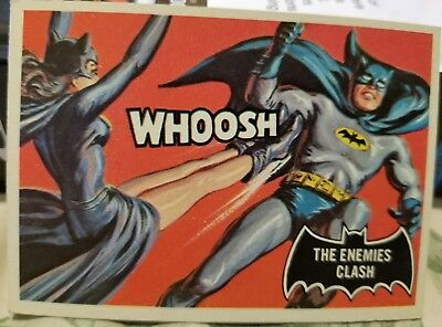 Vintage Original Batman Trading Card 1966, # 33 NM