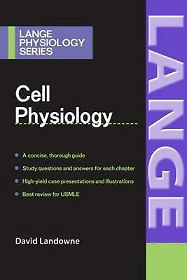 Cell Physiology by David Landowne (English) Paperback Book Free Shipping!