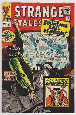 Strange Tales #131 The Human Torch, The Thing & Dr. Strange - Fine Condition