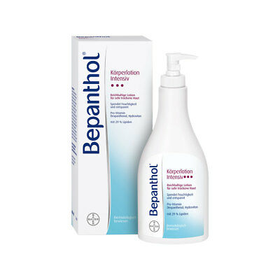 Bepanthol Intensiv Körperlotion Spenderflasche 400ml PZN 01627592
