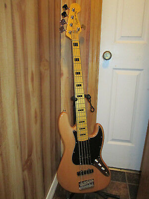 Squier Vintage Modified Jazz Bass V 5 String Electric Bass Guitar