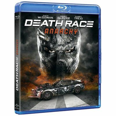 Blu-ray Death Race : Anarchy [Blu-ray] - Zach McGowan, Danny Glover, Danny Trejo