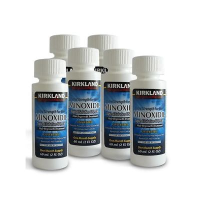 Kirkland Signature Minoxidil 5% Extra Strength Men 2 Month Supply Hair regrowth