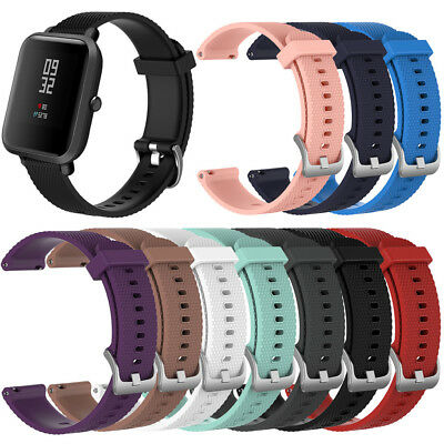 Replacement Silicone Bracelet Strap Wristband Band For Xiaomi Huami Amazfit Bip