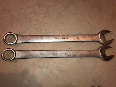 ARMSTRONG 25-260 12-PT 1 7/8 IN LONG COMBINATION WRENCH 12 Point Jumbo Combo
