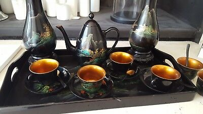 japanese tea set 13pc as new condition
