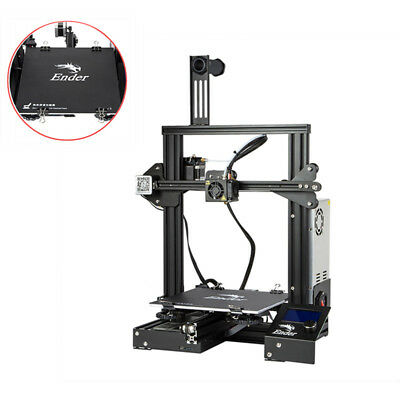 New Version With Removable Build Plate Creality 3D Ender 3 3D Printer