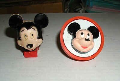 2 Vintage 1950/60's ? Mickey mouse night lights-Both Work