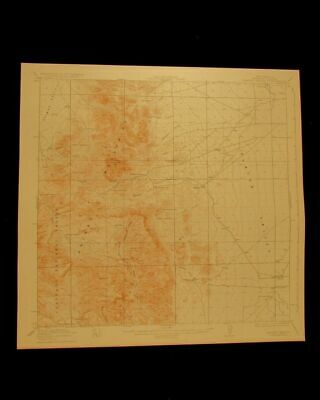 Walnut Wells New Mexico vintage 1923 original USGS Topographical chart