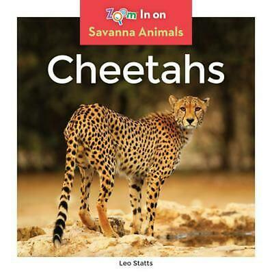 Cheetahs by Leo Statts (English) Library Binding Book Free Shipping!