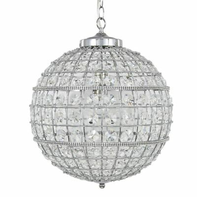 Vienna Medium Clear Cut Glass  Ceiling Light