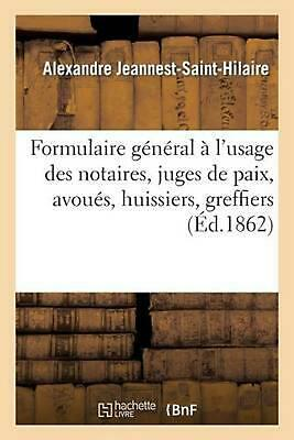 Formulaire g by JEANNEST-SAINT-HILAIRE-A (French) Paperback Book Free Shipping!