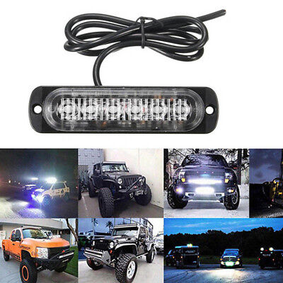 18W Spot 6 LED Light Work Bar Lamp Driving Fog Offroad SUV 4WD For Car Truck Hot