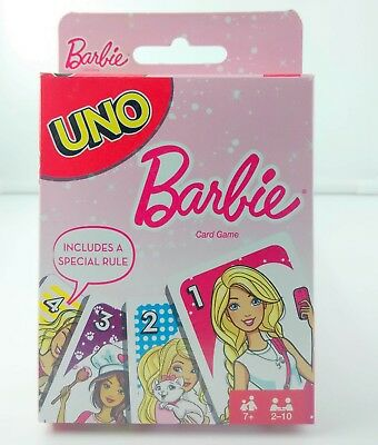 Barbie UNO Card Game Brand new sealed package Mattel Games New Original