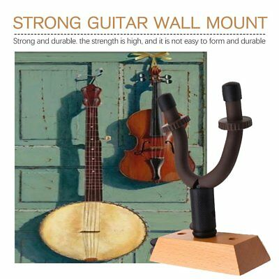 Easy Guitar Hanger Stand Holder Wall Mount Hooks Display Acoustic Electric Rack