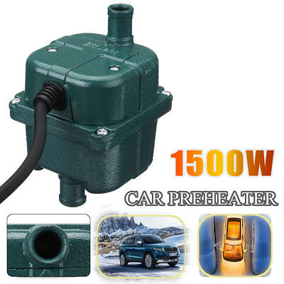 1500W 70°C CAR ENGINE HEATER PARKING COOLANT PREHEATER 220V 1.5KW NEW Fits ALL