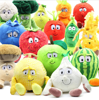 GOODNESS GANG Fruit & Vegetables Plush Soft Plush Stuffed Pillow Cushion Toys