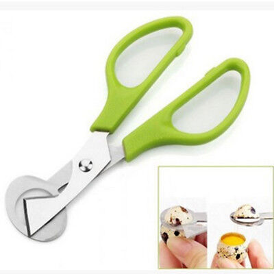 1pcs Quail Egg Shell Scissors Cigar Cutter Stainless Steel Blade Kitchen Tool