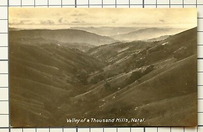 Postcard South Africa Natal Valley Of A Thousand Hills