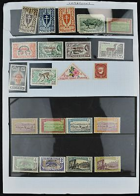 Cameroon Album Page Of Stamps #V7277