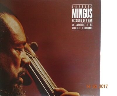 Jazz - Vinyl - 3 LP´s - CHARLES MINGUS - PASSIONS OF A MAN  - ANTHOLOGY ATLANTIC