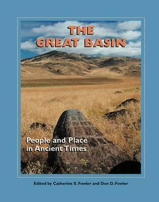 Great Basin: People and Place in Ancient Times (English) Hardcover Book Free Shi