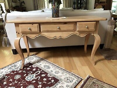 Country French Provincial Buffet console table