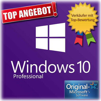 Microsoft Windows 10 Professional 32/64 bit Windows 10 Pro Key