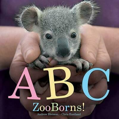 ABC ZooBorns! by Andrew Bleiman (English) Hardcover Book Free Shipping!