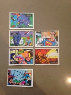 A&BC Superman in the Jungle Cards. Pick your Card
