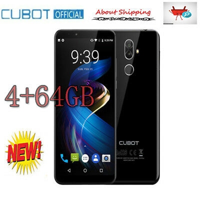 """Cubot X18 Plus 5.99""""Smartphone Android 8.0 Octa core 4+64GB 20.0MP cellulare TOP"""