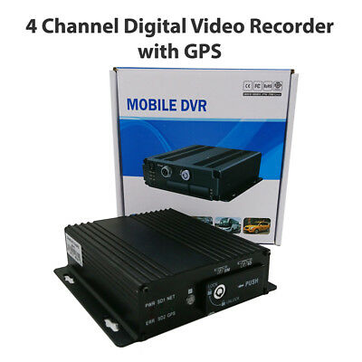 DashWitness 4 Channel Mobile DVR With GPS