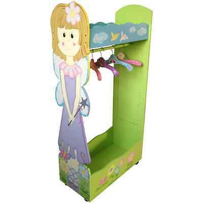 GIRLS FAIRY PRINCESS THEMED WARDROBE bedroom nursery furniture dress up store