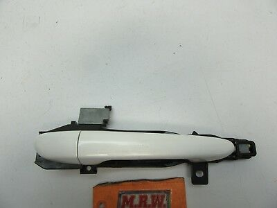 10-13 Mazda 3 Right Rear Door Handle Passenger Side Back Rr Rh R White Pearl Oem