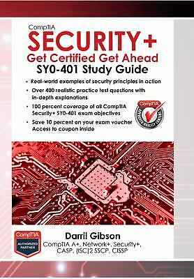 CompTIA Security+ : SY0-401 Study Guide: Get Certified Get Ahead