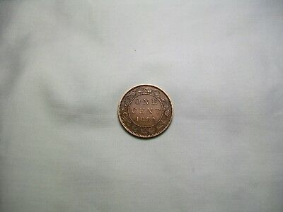 1882-H Canada Large One Cent