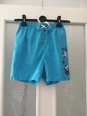 Boys Blue Shorts Size 10-11 Years From Urban Outlaws